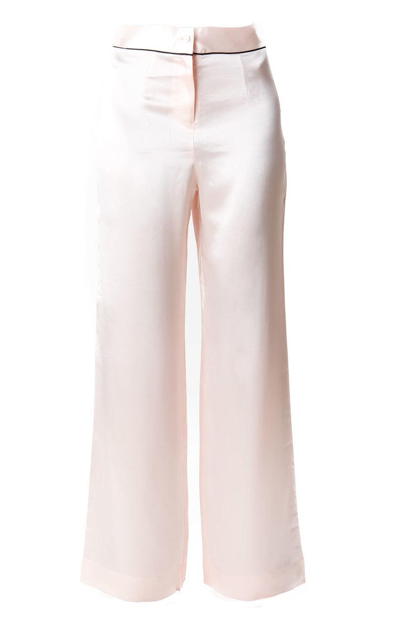 Брюки Classic PyjamaБудуар<br>Роскошные брюки из чистого шелка в сочетании с верхней частью Classic Pyjama интересно дополнят вашу будуар-коллекцию.<br><br>Возраст: Взрослый<br>Размер unitSize=: XS (1 AP)<br>Цвет: розовый<br>Пол: Женское