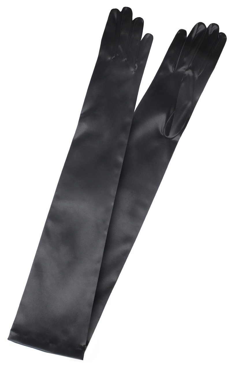 Перчатки Long SatinПерчатки<br>Классические длинные перчатки, созданные из невероятно мягкого черного атласа, добавят нотку винтажного шика Вашему образу.<br><br>Возраст: Взрослый<br>Размер unitSize=: L (4 AP)<br>Цвет: черный<br>Пол: Женское