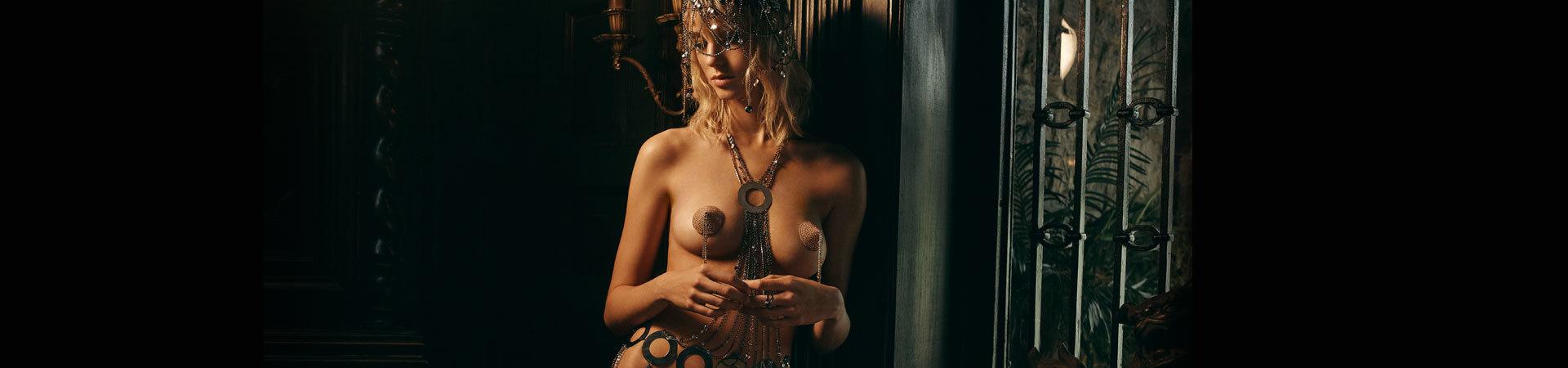 Ошейники, наручники и украшения