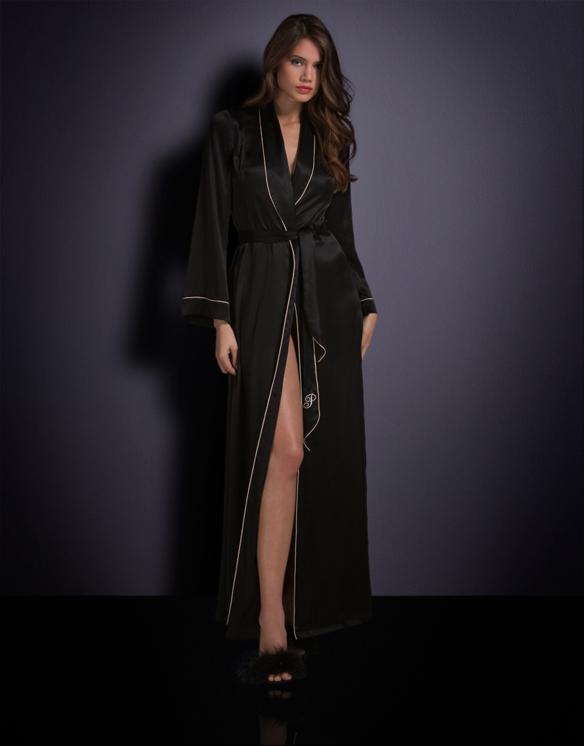 Халат Long Dressing Gown от Agent Provocateur